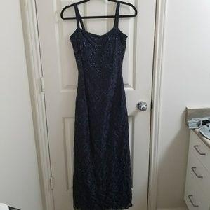 Rimini Deep Blue Gown